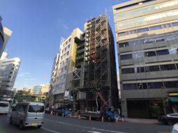 弊社設計、渋谷の新築テナントビル 工事レポート