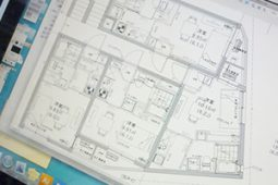 テナント入居前の内装工事、図面チェックについて
